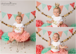 CHICAGO  NAPERVILLE BABY PHOTOGRAPHER CAKE SMASH FIRST BIRTHDAY - Cake smash first birthday